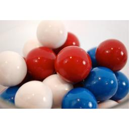 Red, White, and Blue Gumballs (1lbs)