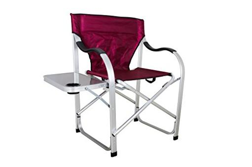 Chair Heavy-Duty Director Chair 20.5 Inch X 18 Inch X 20 Inch Seat 36.8 Inch Height 350 Pound Weight Capacity Foldi