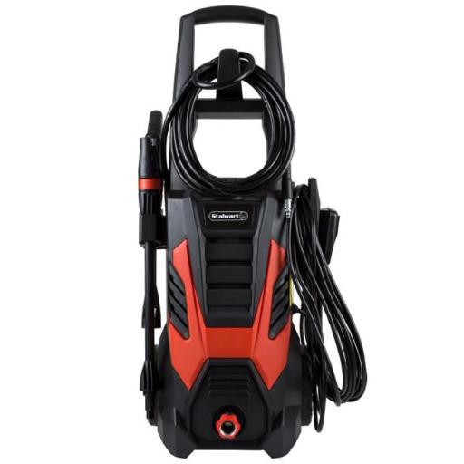 Stalwart M550092 2000 PSI Electric Powered Pressure Washer by Stalwart, Red & Black
