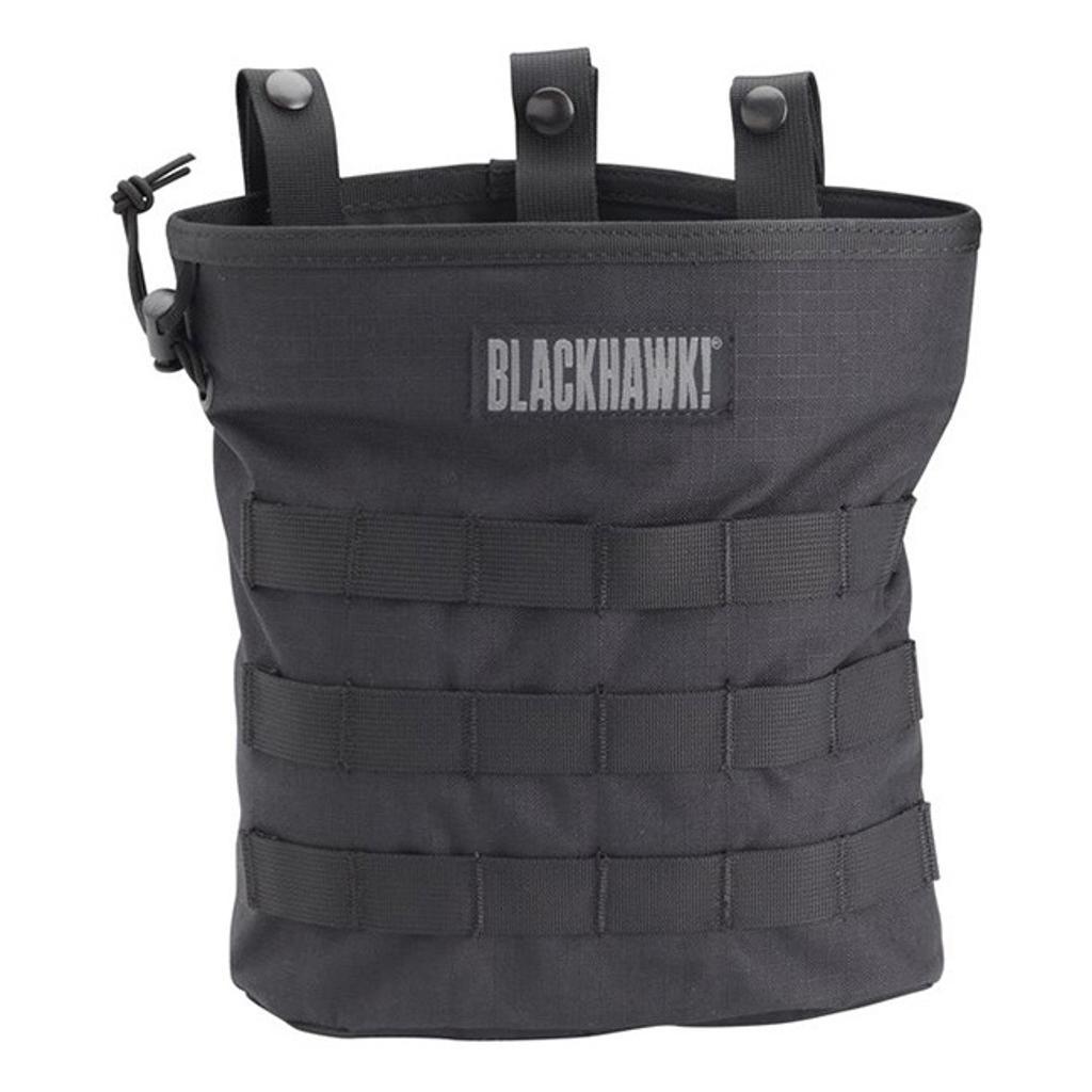 Blackhawk 37cl117bk bh roll-up molle dump pouch bk