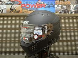 Simpson Ghost Bandit Full Face Motorcycle Helmet Matte Black Men'S Size Medium GBDM3