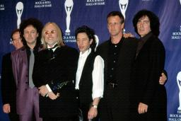 Tom Petty And The Heartbreakers At The Rock And Roll Hall Of Fame, Nyc, 3182002, By Cj Contino. Celebrity