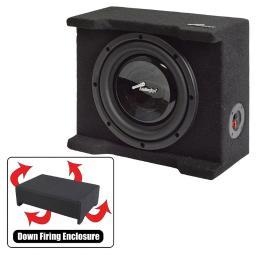 Audiopipe  Audiopipe Single 8 Shallow Downfire Sealed Enclosure With Sub