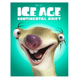 Ice age 4-continental drift (blu-ray/family icons o-ring) BR2321108