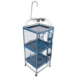 a-e-cages-ae-2422-2b-double-stack-cage-with-play-top-small-black-bgpmfbohcs0ukxkg