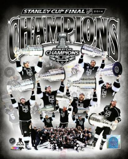 Los Angeles Kings 2014 Stanley Cup Champions Celebration Composite Photo Print JBKHQSBWXUXVGWFB