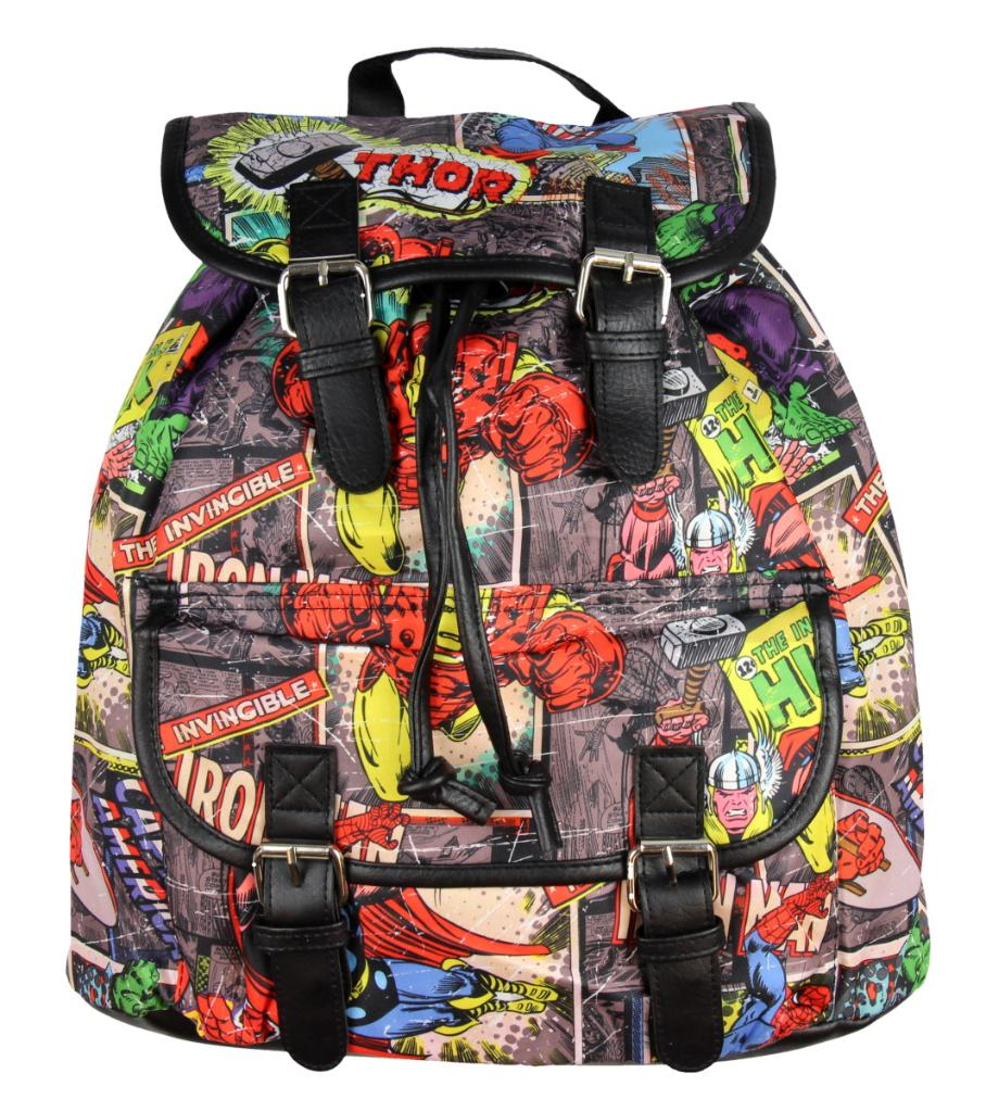 Marvel Avengers Thor Spider-Man Ironman Captain America Hulk Backpack Knapsack