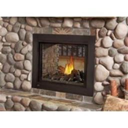 Napoleon 2477776 Bhd4Stn Clean Face Fireplace - See Through with Logs, Natural Gas