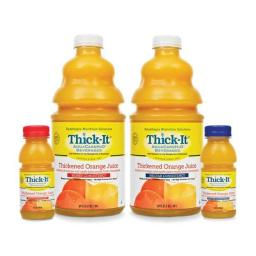 Kent Precision Foods PXB476 8 oz Thick It AquaCare Nectar Thickened Consistency Orange Juice