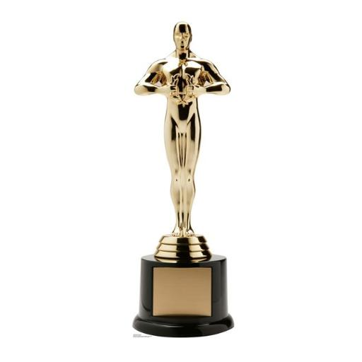 Advanced Graphics 2470 88 x 28 in. Trophy Award Standup with Base Cardboard Standup
