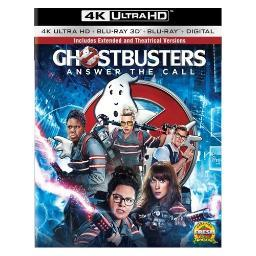 Ghostbusters (2016/blu-ray/4k-uhd/3d blu-ray/ultraviolet) (3d) BR47412