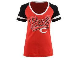 "Cincinnati Reds MLB ""5th & Ocean"" Fashion Tee"
