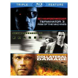 Terminator 3/eraser/collateral damage (blu-ray/3fe) BR480072