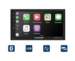 Blaupunkt bpa799play denver blaupunkt denver 6.8 double-din mechless receiver compatible with android auto and apple