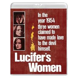 Lucifers women/doctor dracula (blu ray/dvd combo) (ws/1.85:1) BRVS205