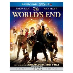 Worlds end   blu ray/dvd w/digital hd w/ultraviolet (2discs) BR61125399