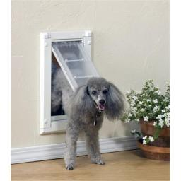 Patio Pacific 04PP06 1 Endura Flap Pet Door for Walls Number 06 - Single Flap