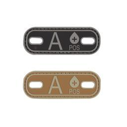 5ive-star-gear-a-pos-a-blood-type-medical-pvc-patch-bootlace-tag-1-x-2-75-qqt8vnt4fuo8hbll