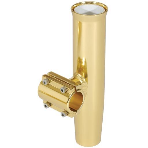 Lee'S Clamp-On Rod Holder Gold Alum Horizontal Pipe Size #1