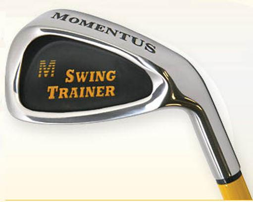Momentus Golf ITRSCC Traveler Swing Trainer Iron with Carry Case - RH Standard Grip