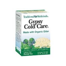Traditional Medicinals Cold & Flu Tea Gypsy Cold Care 16 tea bags 1703