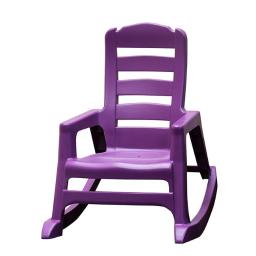 Adams Manufacturer 212751 Kids Rock Chair, Violet