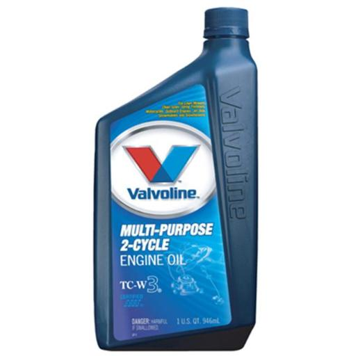 Valvoline Oil VV461 1 Quart Multi Purpose 2 Cycle Oil - Pack Of 6