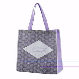 Cb Gift 143022 13 Sq In. X 6 In. Gusst Tote Bag Nylon Joy Of The Lord