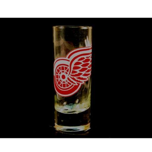 "Detroit Red Wings NHL ""Hype"" Tall Shot Glass R00XSNMPWR1ZFNMJ"