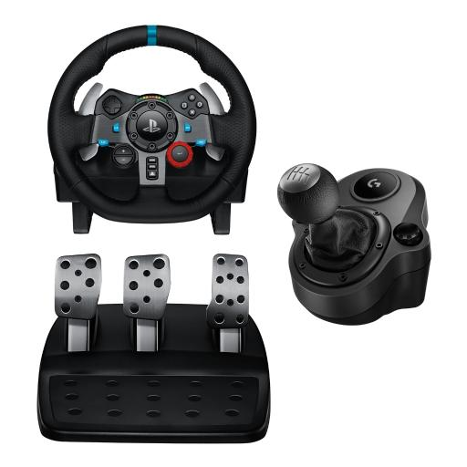 Logitech G29 Driving Force Racing Wheel Dual Motor Force Feedback with  Shifter