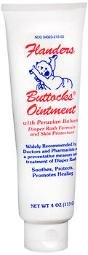Flanders Buttocks Ointment - 4 oz, Pack of 3