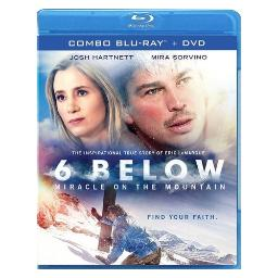 6 below-miracle on the mountain (bluray/dvd combo) BREOE8414