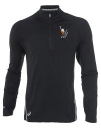 Asics Thermopolis Lt Thermal Lightweight 1/2 Zip Top Mens Style : Mr2208