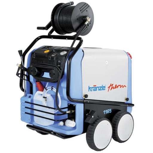 Kranzle 9800244 Therm 1165 Hot Water 2400 PSI, 5.0 GPM, 220V, 25A, 3PH, Electric Pressure Washer