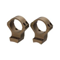 Browning 12536 bg x-lock mounts 30mm high 2-pc burnt bronze for x-bolt