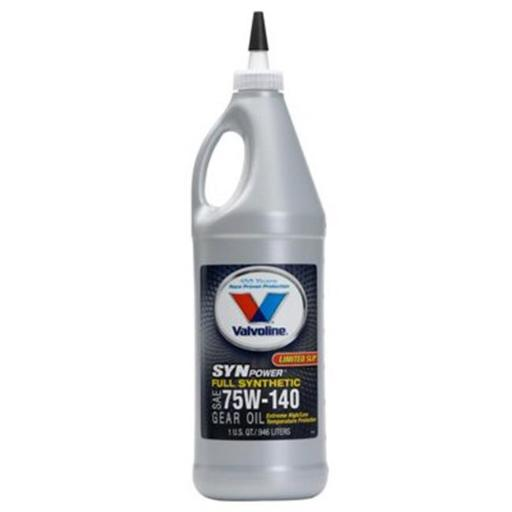 Valvoline Oil 198102 1 qt. 75W140 Full Synthetic Gear Oil
