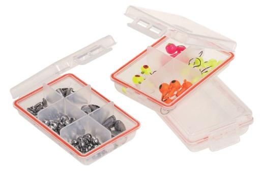 Frabill 106100 frabill waterproof terrminal tackle accessory boxes (3-pack)