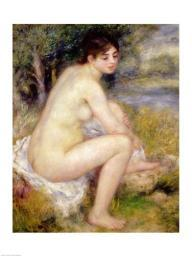 Nude in a Landscape, 1883 Poster Print by Pierre-Auguste Renoir BALXIR19114LARGE