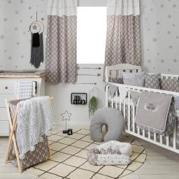 Doug DeerCrib Bedding Set (4PC Bedding Set + 1 set Curtain)