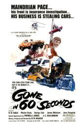 Gone In 60 Seconds 1974. Movie Poster Masterprint EVCMCDGOINEC031HLARGE