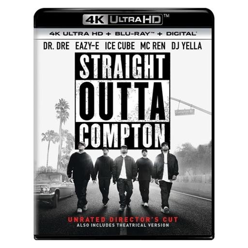 Straight outta compton (blu-ray/4kuhd/ultraviolet/digital hd)