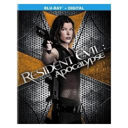 Resident evil-apocalypse (blu ray/ultraviolet) (package refresh) BR49559