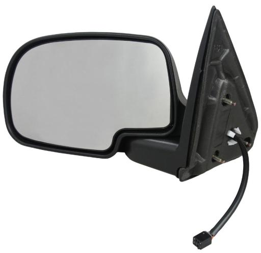 NEW LEFT DOOR MIRROR FIT CHEVROLET SUBURBAN 1500 2500 02-06 POWER HEAT GM1321250