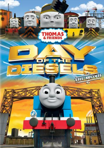 Thomas & friends-day of the diesels (dvd) (ws/eng/fren/span/2.0) Q2DARRH41FCFLOON