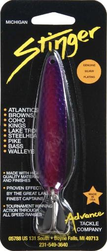 Advance tackle co. sh60 sting spoon 3.75 purple thumbnail