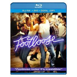 Footloose (2011) blu ray/dvd combo pack w/digital copy        nla BR144914