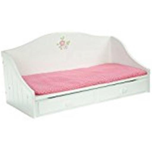 Teamson Design Corp TD-0096A Little Princess Doll Furniture - Trundle Bed, 18 in.