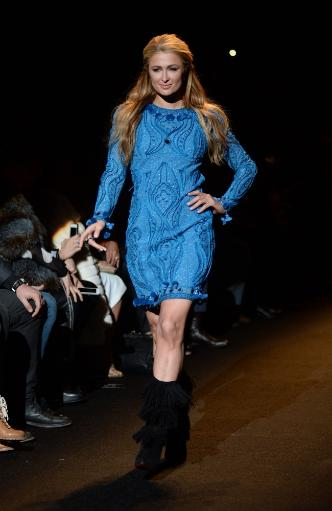 Paris Hilton On The Runway For Fashion For Relief 2015 Fall Fashion Show, The Theatre At Lincoln Center, New York, Ny February 14, 2015. Photo By.