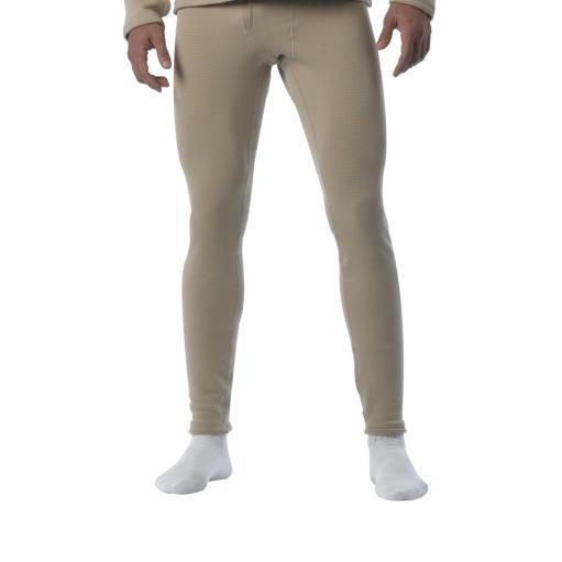 Mens ECWCS Level II Thermal Underwear Pants, Sand