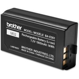 Brother international corporat bae001 rechargeable li-ion battery pack